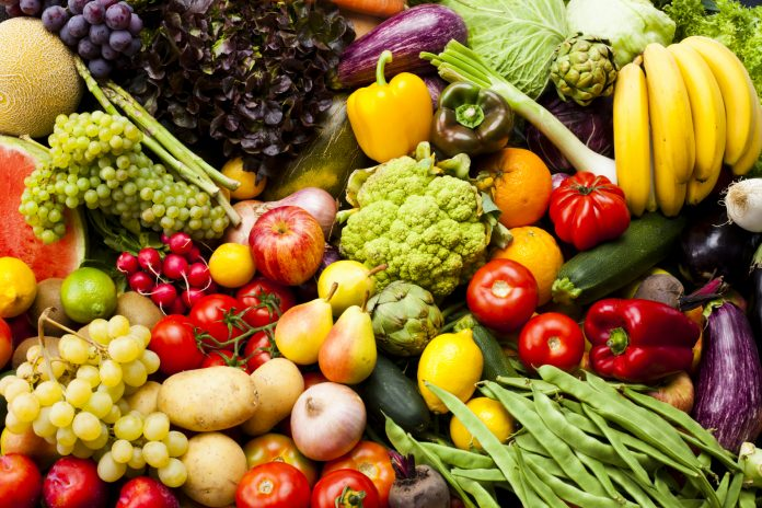 Fruits and Vegetable choices good for micronutrients.