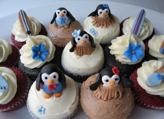 Baked Comfort Food's Penguin Cupcakes