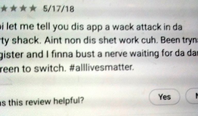 A Perfect Response To A Crappy Workplace App