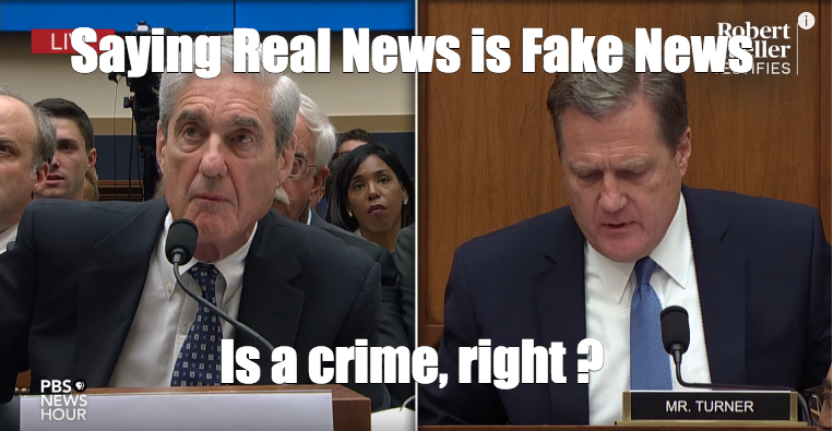 Meme: Saying Real News is Fake News Is a Crime, Right?