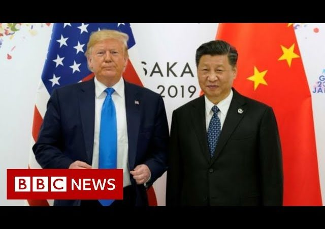 Trump suggests 'personal meeting' with Chinese president – BBC News