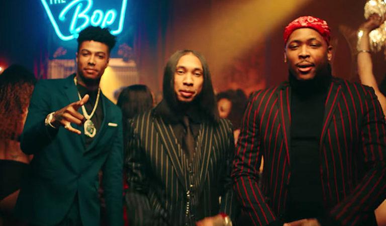 "Tyga, YG & Blueface Drops Off ""Bop"" Video Watch it"