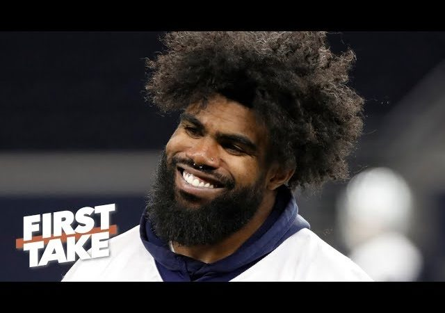 Ezekiel Elliott's holdout is bad for the Cowboys – Marcus Spears | First Take
