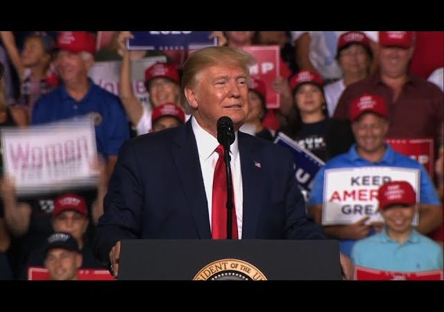 Trump:'love me or hate me, you got to vote for me'