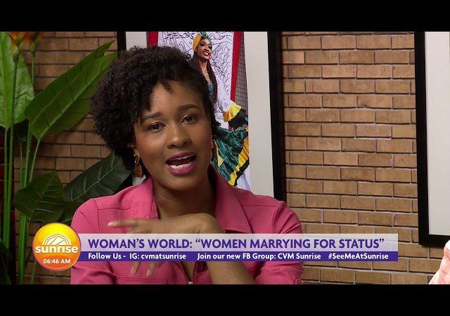 CVM At Sunrise – A Woman's World – August 15, 2019