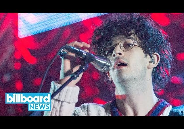 The 1975's Matty Healy Makes a Statement By Kissing Male Fan at Dubai Show | Billboard News