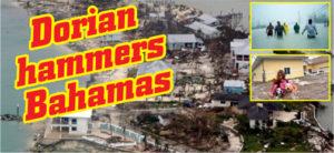 Dorian hammers Bahamas