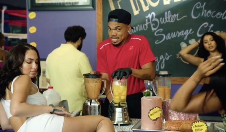 """Chance The Rapper Links With DaBaby & MadeinTYO For """"Hot Shower"""" Visual"""