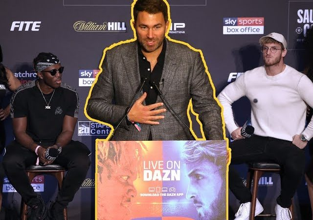 KSI v Logan Paul bigger than Joshua – Eddie Hearn | BBC Sport