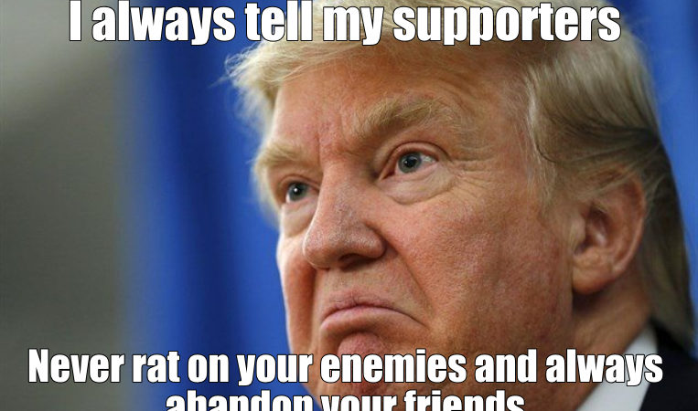 MEME: Trump's Doctrine on Loyalty