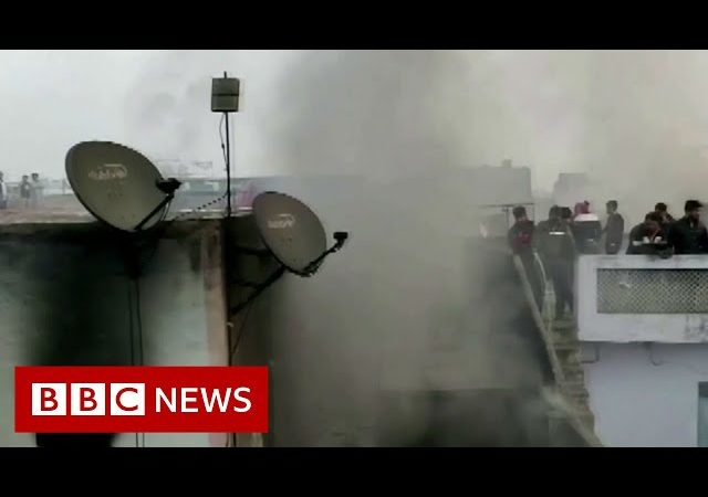 Delhi factory fire: More than 40 dead in India blaze – BBC News