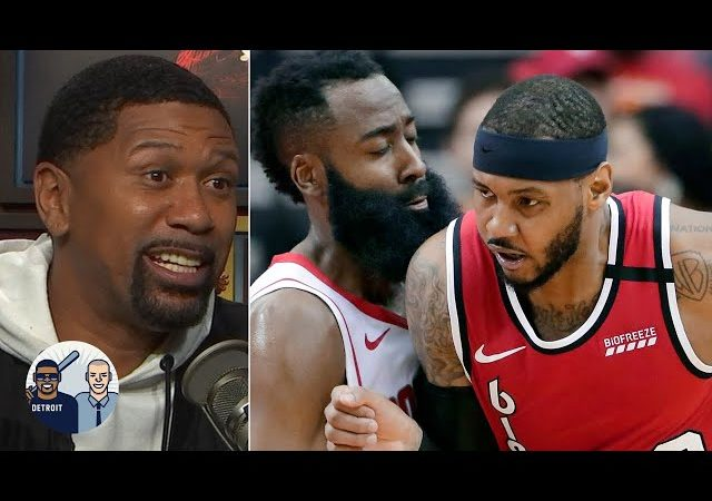 Carmelo Anthony went 'Vintage Melo' against the Rockets – Jalen Rose | Jalen & Jacoby