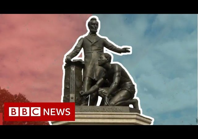 Why monuments in the US are being taken down – BBC News