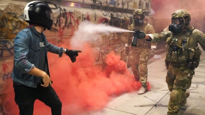 Portland protests: Federal forces ready for phased pullout