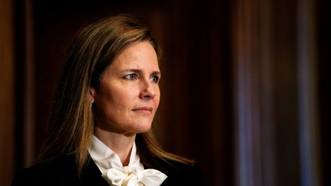 Amy Coney Barrett: Democrats attack 'shameful' Supreme Court hearing