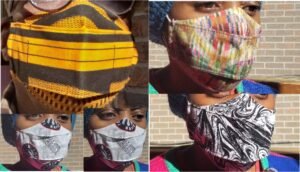 Cloth masks work only if you machine wash them after use