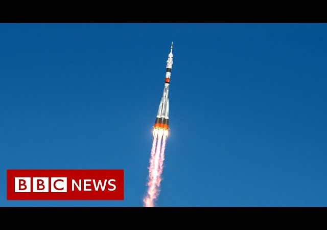 Soyuz rocket reaches ISS in record time – BBC News