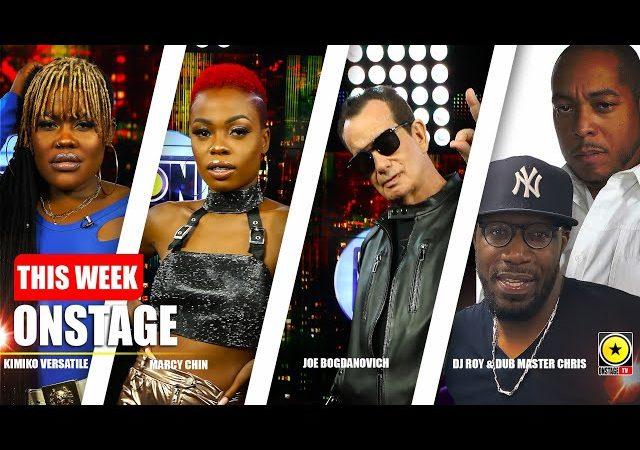 THIS WEEK ONSTAGE: Kimiko Versatile, Marcy Chin, Joe Bogdanovich, DJ Roy & Dub Master Chris