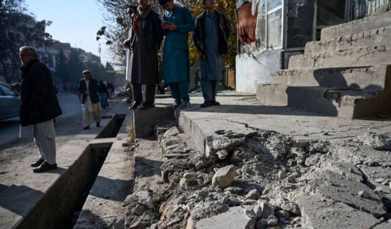 Rockets hit residential area of Kabul, killing at least 8 and wounding 31