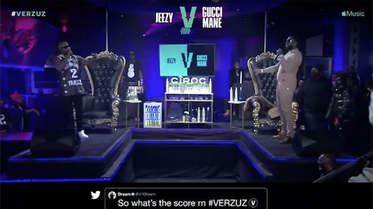 Verzuz Battle Gets Tense as Gucci Mane Mocks Jeezy Over Friend's Death
