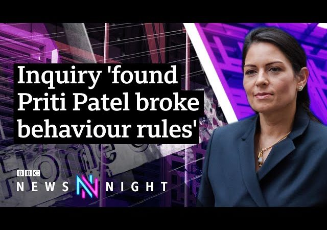 Bullying inquiry: Could UK Home Secretary Priti Patel resign? – BBC Newsnight