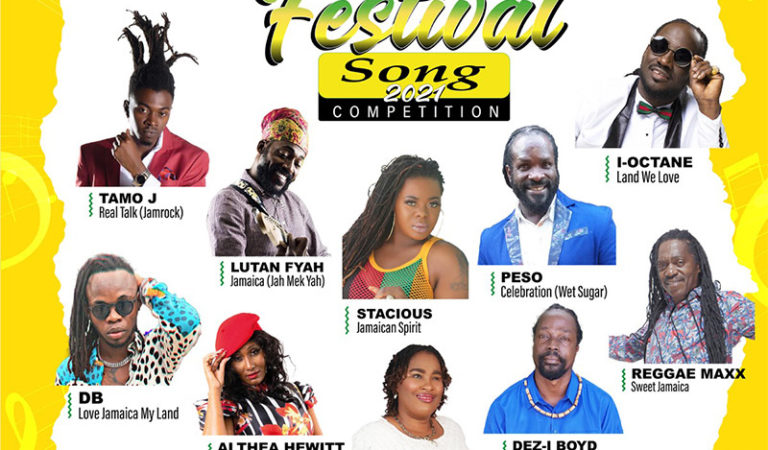 VOTE: 2021 Jamaica Festival Song Competition Finalists